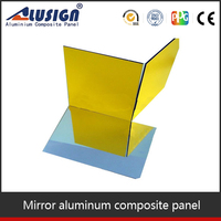 Alusign mirror frame material