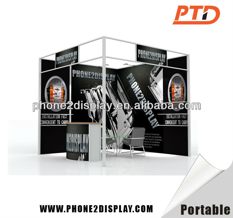 trade show portable exhibition custom build exhibition stands