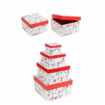2019 Custom Size & Design Nested Gift Boxes Sets