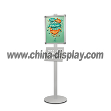 Folding retractable easel tripod poster stand 32mm telescopic menu board