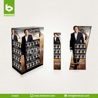 Full Pallet CD/DVD Cardboard Display Stand