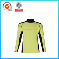 Customized Design Flatlock Stitching Lycra Tops 2mm for Bodybuilding