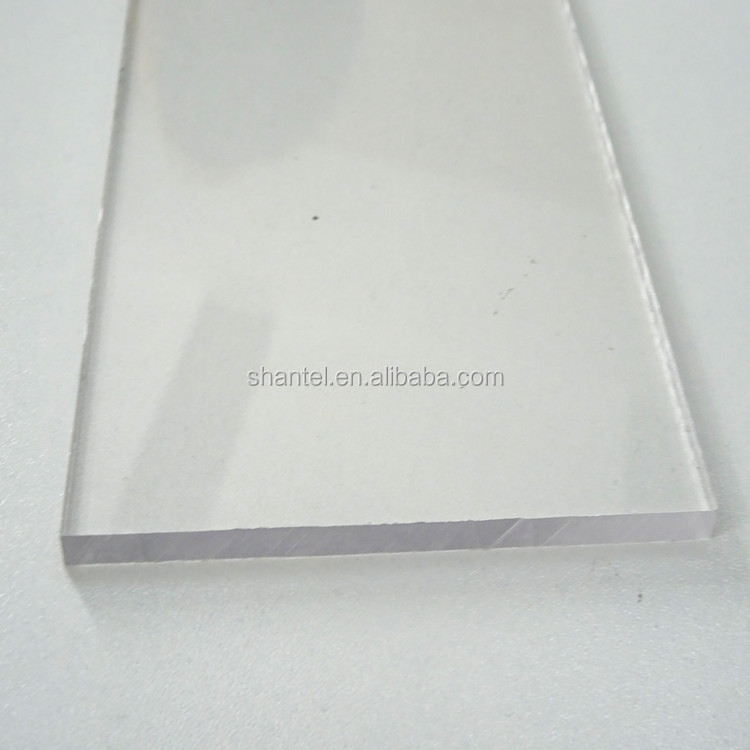 3mm polycarbonate solid sheet with UV -protection and competitive price for windows and skylight