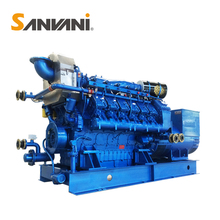 Natural biomass gas electric power generator price