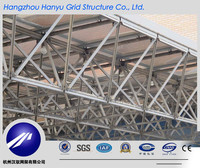 Space Frame Grid Structure Large Span Steel Frame Roof