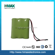 NiMH Rechargeble Battery Pack 4.8V AA (2500mAh)