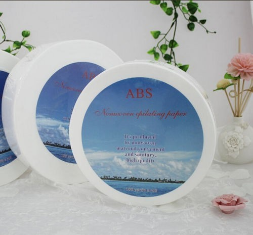 Rolls Depilation Wax Paper Depilatory Paper Wax Strips For Home Salon Use