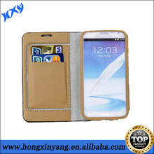 High-end Flip case for samsung Note 2,leather case for Samsung galaxy note 2.