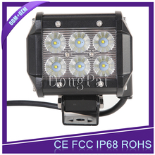 Off-road 4x4 Led light bar 12v 24v led auto light marine accessories 18w led truck work light