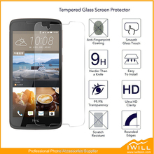 Hot selling Cell Phone use screen protector 9h tempered glass for HTC Desire 828 glass film