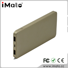 Chinese fashion bulk supply 10000mah dual USB mobile phone wholesale power bank