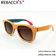 China Shades Eyewear CE Polarized Wooden Sunglasses 2017,Colorful Eye Glasses