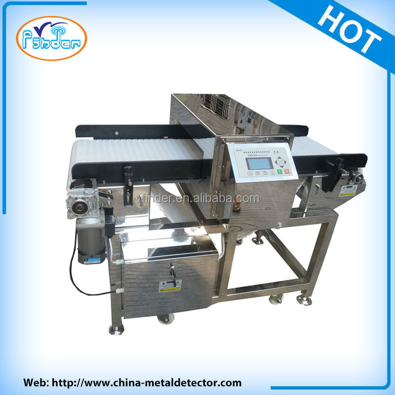 food industry conveyor belt metal detector for food ,food metal inspection machine