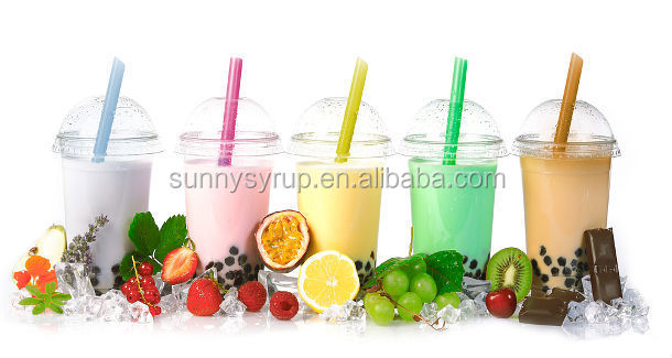 Bubble Tea Papaya Syrup