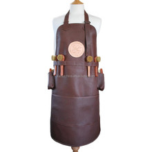 cotton printed kitchen apron leather welding apron for Christmas gift