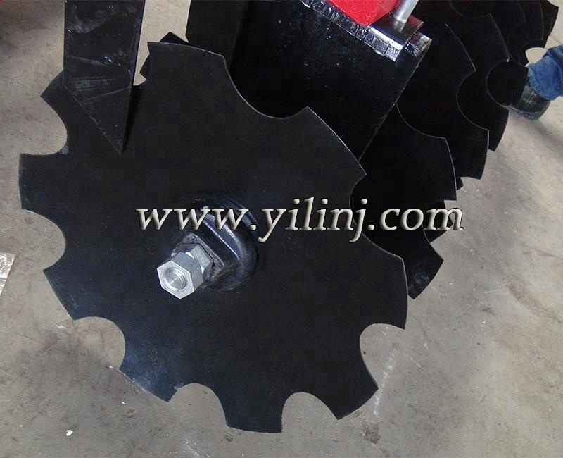 Wave disc blade of spare parts