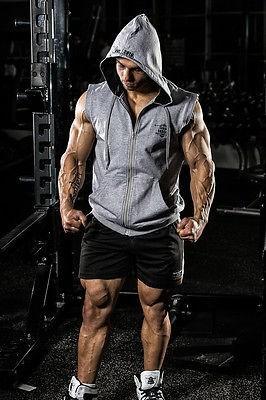 Gym Wear Hoodies Sports Fitness Sleeveless Hoodie - Buy Gym Wear ...