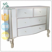Wholesale Cheap Glass Mirrored Furniture Home Goods Dresser