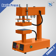 Rosin heat press machine easy to make hash oil with best quality FJXHB1015