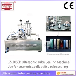 PLC touch screen control cosmetic tube sealing machine