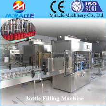 Large capacity SUS 304 piston Salad Oil Filling Machine made in China (0086 13603989150)