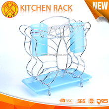 Saving Space stainless steel kitchen rack / portable kitchen rack / kitchen utensils holder Apply knife and Chopsticks tube rest