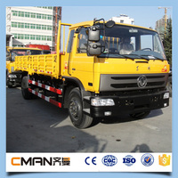 China 8 ton 130hp Dongfeng 4x2 light cargo truck for sale