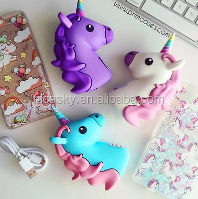 Emoji & Unicorns 2600MAH Universal Portable Charger Power Bank
