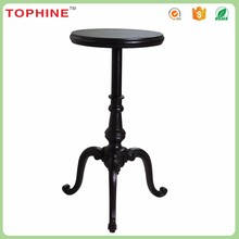 Antique wrought iron small coffe table modern bistro tables