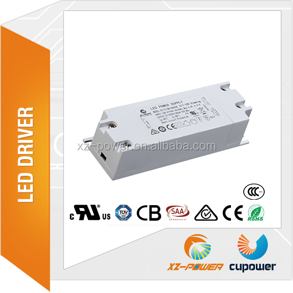 made in china 4-60 watt constant current led driver 350ma