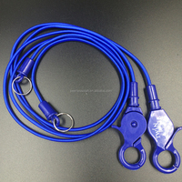 Elastic Bungee Cord with Plastic Key Ring