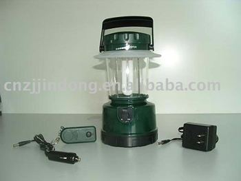 Promotional 7W or 9w energy saving rechargeable camping lantern with remote control