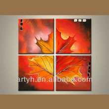 Wholesale Handmade Flower Group Oil Painting On Canvas