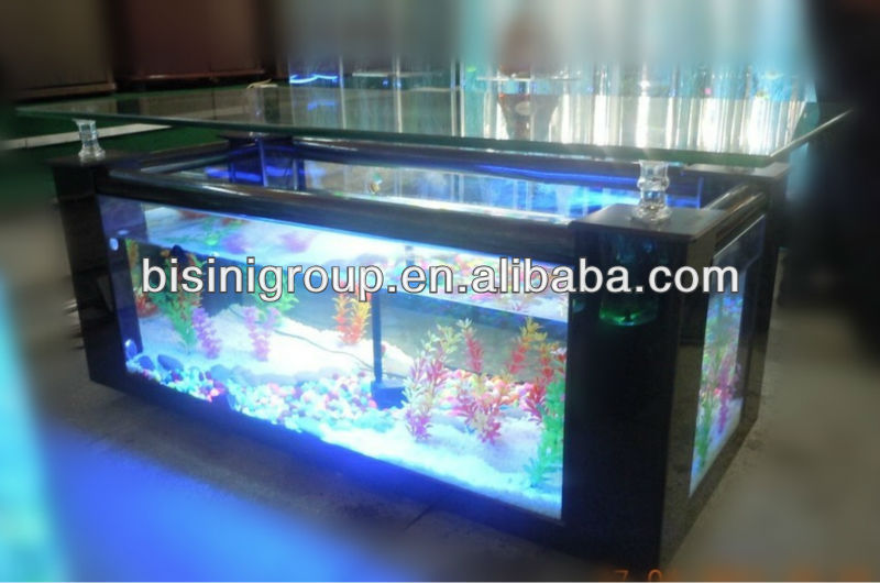 Modern Style Acrylic Rectagle Coffee Table Aquarium/ Fish Tank Table (BF09-41032)
