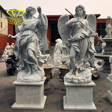 Outdoor home & Garden decor Life Size Marble New product Greek Winged goddess Statue For Sale