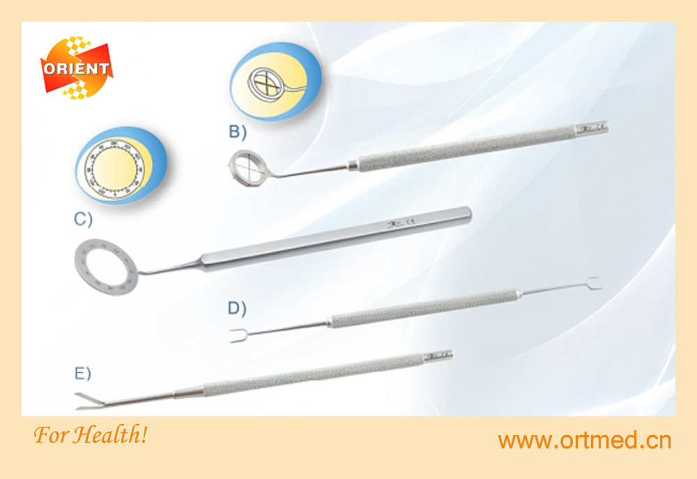 Good quality ophthalmic Microsurgical Instruments, Len Manipulator