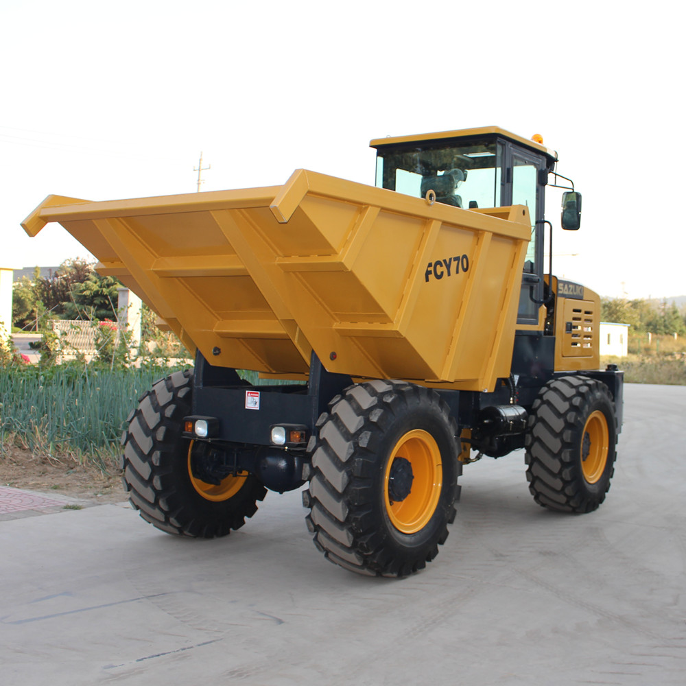7.0ton road off site dumper