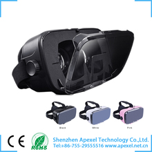 Hottest Virtual Reality Headset 3D Glasses for Immersive 3D Movies/360 degree Videos/VR,Newest APEXEL virtual reality 3d glasses