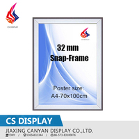 aluminum advertising snap frame