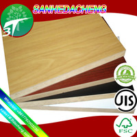 cheap mdf 2mm factory price list/wood timber/desk/door mdf/