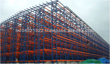 Self Supported Warehouse Rack Clad System