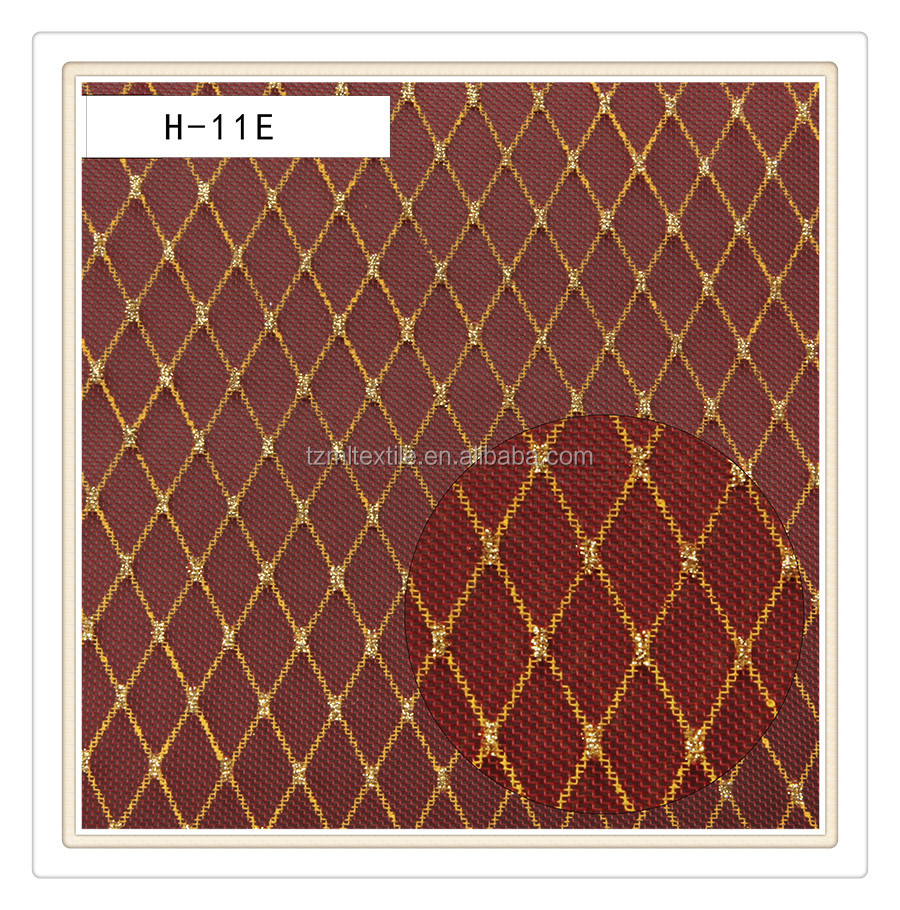 The good quality plastic diamond woven mesh fabric