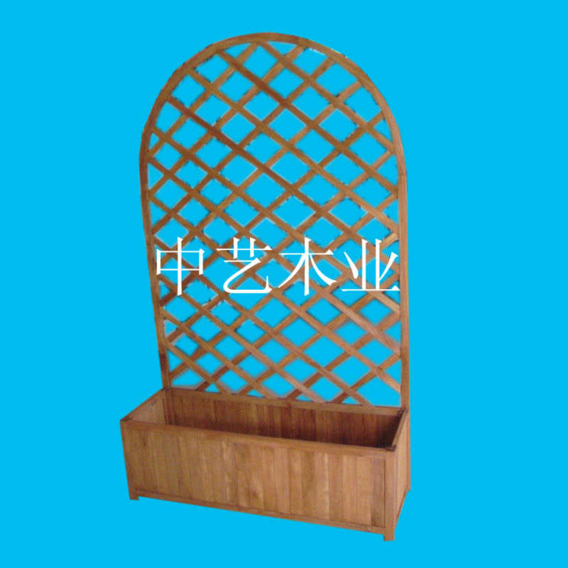 arched indoor flower pot stand / stands for flower