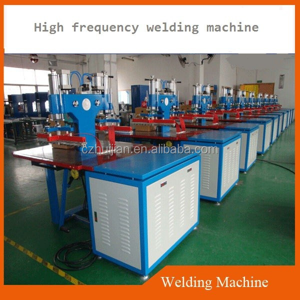 2017 hot sale high frequency a4 plastic file folder making machine