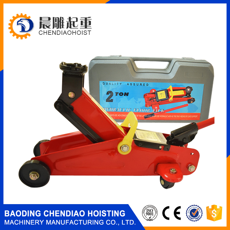plastic bag packing car jack 2ton hydraulic floor jack
