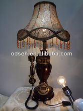 Antique Style :Light Table Lamp Wooden Bed-Lighting With Speacial Telephone