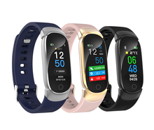 2019 New arrival Intelligent Sport <strong>Smart</strong> <strong>watch</strong> With Heart Blood Pressure Rate Sleep Monitoring Fashion <strong>smart</strong> Bracelet