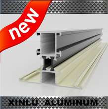 6063 alloy T5 aluminium profile to make doors and windows factory
