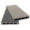 150x25mm square hollow wpc decking decorate board