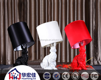 porn women and animal sex free led resin table lamp with animal base